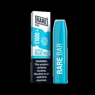 Rare Bar 1000+ Puffs 500mAh 2.4mL 5.0% Disposable Device 10ct