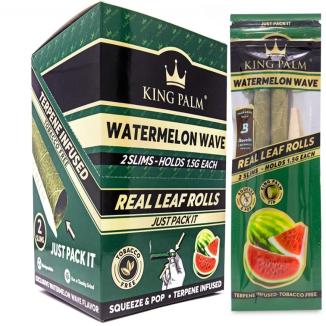 King Palm Flavors Slim Rolls 2pk x 20ct